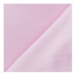 Tissu polaire polyester rose